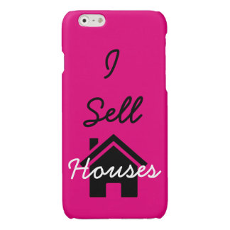 I sell houses realtor cell phone case