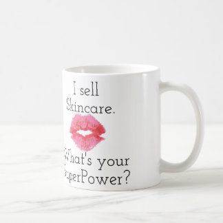 I Sell Skincare. What's Your SuperPower? Mug... Classic White Coffee Mug