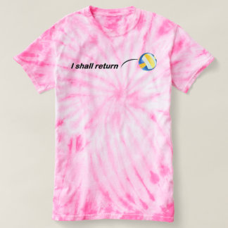 I Shall Return Volleyball T-shirt