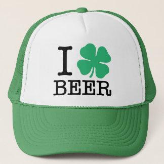 I Shamrock Beer Trucker Hat