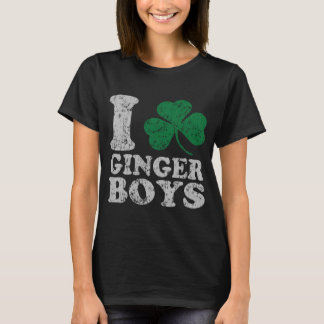 I Shamrock Ginger Boys T-Shirt