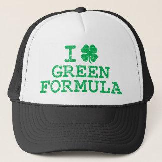 I Shamrock (Love) Green Formula Trucker Hat