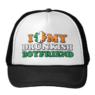 I Shamrock My Drunkish Boyfriend Trucker Hat