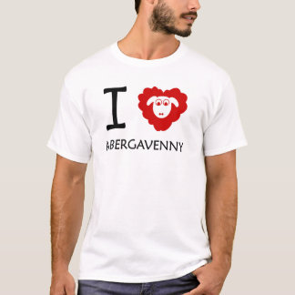 I Sheep Abergavenny (large logo) T-Shirt