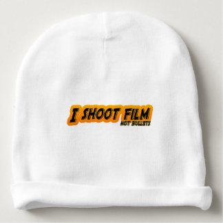 I Shoot Film Not Bullets Baby Beanie