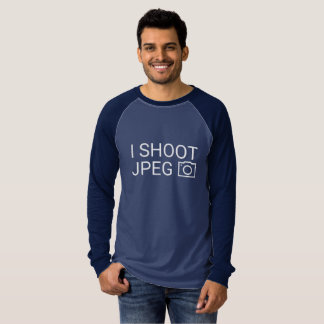 I Shoot JPEG T-Shirt