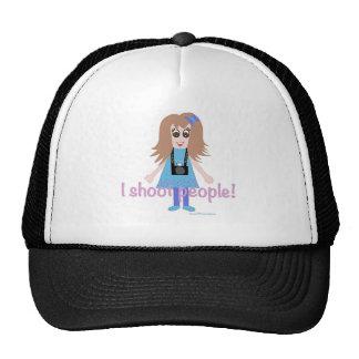 I shoot like a girl trucker hat