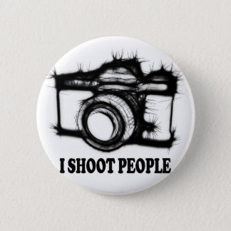 I shoot people 2 inch round button