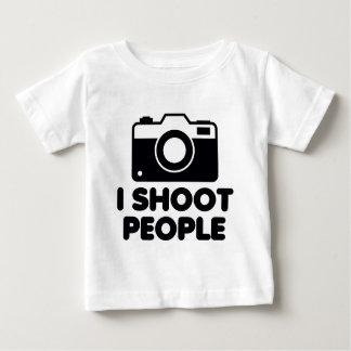 I Shoot People Baby T-Shirt
