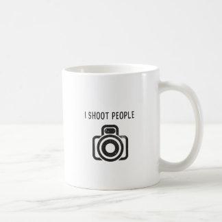 I shoot people - camera coffee mug