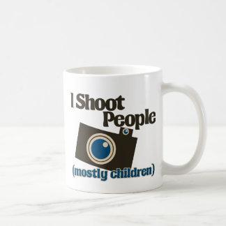 I Shoot People Coffee Mugs