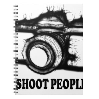I shoot people notebooks