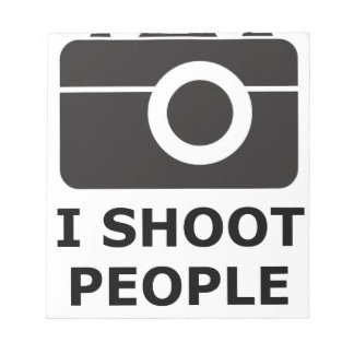 I Shoot People Notepad