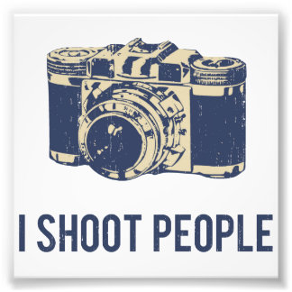 I Shoot People Photography Camera Photograph