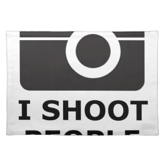 I Shoot People Placemat