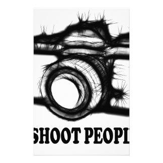I shoot people stationery