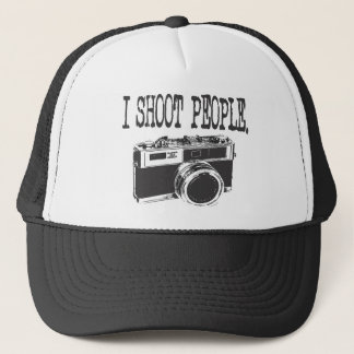 I Shoot People Trucker Hat