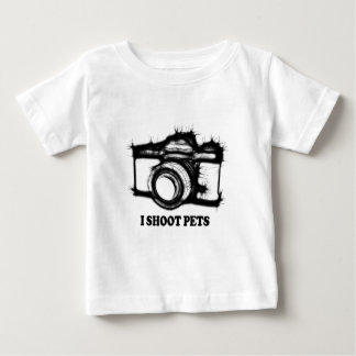 I shoot pets baby T-Shirt