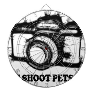 I shoot pets dartboard