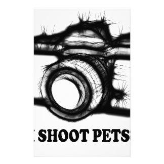I shoot pets stationery
