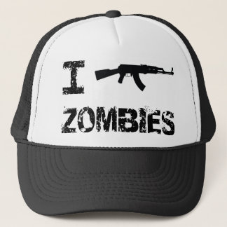 I Shoot Zombies Trucker Hat