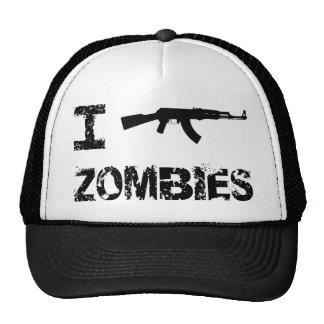 I Shoot Zombies Trucker Hat