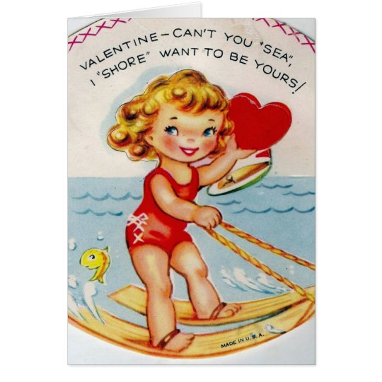 I Shore Want To Be Yours Card