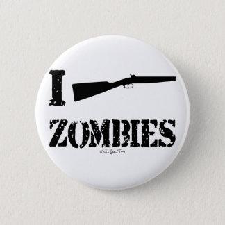 I Shotgun Zombies 2 Inch Round Button