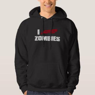 i shotgun zombies hoodie