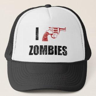 I Shotgun Zombies/ I Heart Zombies cap