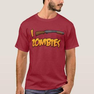 I Shotgun Zombies! T-Shirt