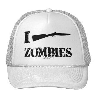 I Shotgun Zombies Trucker Hat