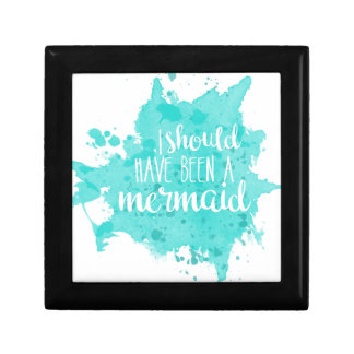 I Should Have Been A Mermaid Gift Box