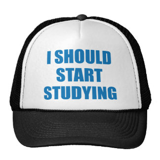 I Should Start Studying Trucker Hat