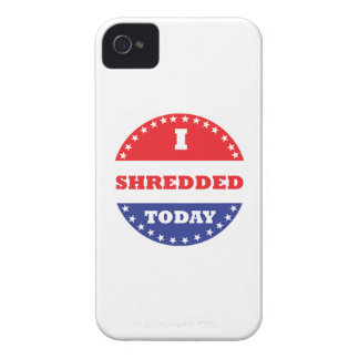 I Shredded Today iPhone 4 Case-Mate Case