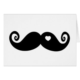I simply love Moustache Greeting Cards