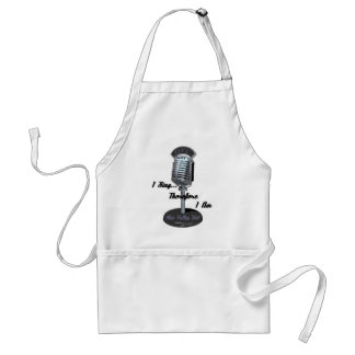I sing 2008 standard apron