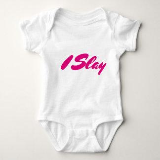 I Slay Baby Bodysuit