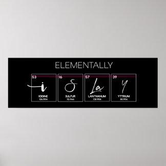 I Slay Elementally Poster