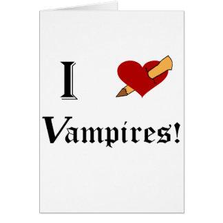 I Slay Vampires Cards