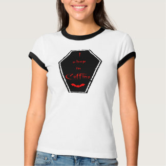I Sleep In Coffins T-Shirt