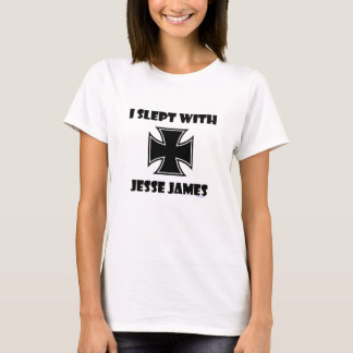 I SLEPT WITH JESSE JAMES SPAGHETTI TOP