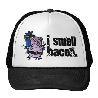 i smell bacon trucker hat