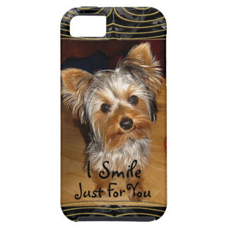 I Smile Just For You Yorkie iPhone 5 Cases