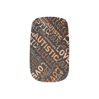 I❤️Someone Autistic Minx Minx Nail Art