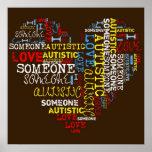 I❤️ someone Autistic Poster