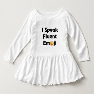 I Speak Emoji Dress