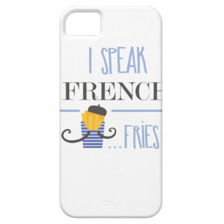 I Speak French... Fries Case For The iPhone 5