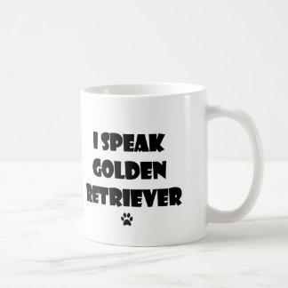 I Speak Golden Retriever Mug