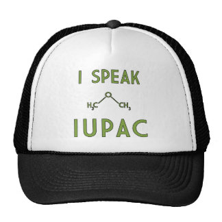 I Speak IUPAC Trucker Hat